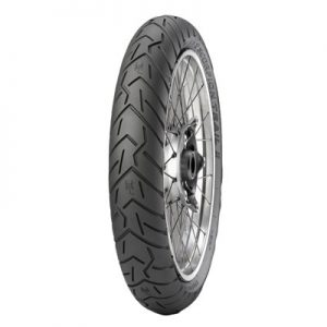 110/80R-19 (59V) Pirelli Scorpion Trail II Front Motorcycle Tire for Aprilia ETV 1000 Caponord 2002-2007