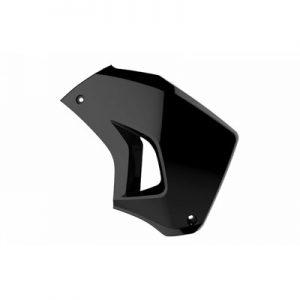 Polisport Radiator Scoops Right Side Black for Kawasaki KLR650 2008-2018
