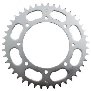 Primary Drive Rear Steel Sprocket 43 Tooth for Kawasaki KLR650 1987-2017
