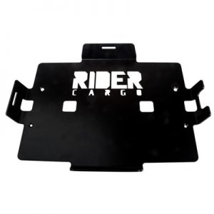 Rider Cargo Cooler Mounting Rack  Black Powder Coated