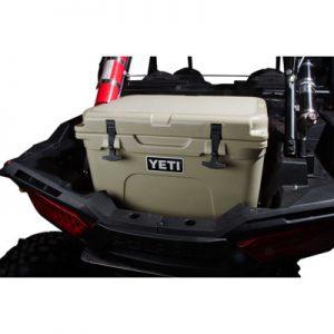 Rider Cargo Cooler Mounting Rack and Cooler Kit Yeti Tundra 35 Tan