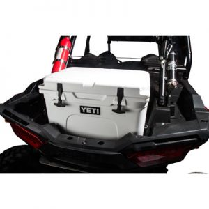 Rider Cargo Cooler Mounting Rack and Cooler Kit Yeti Tundra 35 White