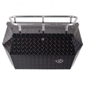 Ryfab Aluminum Cargo Box with Top Rack Black for Arctic Cat PROWLER 650 4X4 AUTOMATIC 2008