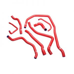 SamcoSport Radiator Hose Kit Red for Polaris RANGER RZR XP 1000 2014-2018