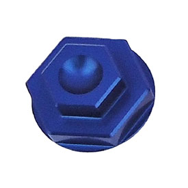 7602 Racing Front Axle Nut Blue for Husqvarna FE 350 2016-2017
