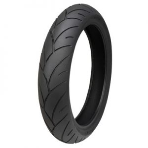 120/70ZR-17 (58W) Shinko 005 Advance Front Motorcycle Tire for Aprilia Caponord 1200 ABS 2014-2016