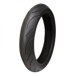 120/70ZR-17 (58W) Shinko 011 Verge Front Motorcycle Tire for Aprilia Caponord 1200 ABS 2014-2016
