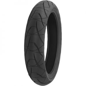 120/70ZR-17 (58W) Shinko 016 Verge 2x Front Motorcycle Tire for Aprilia Caponord 1200 ABS 2014-2016