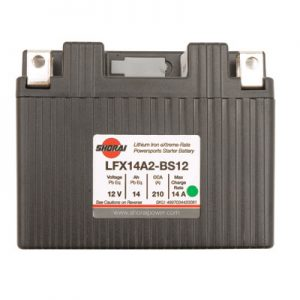 Shorai Lithium-Iron Battery LFX14L2-BS12 for Beta 250 RR 2013-2018