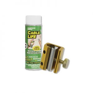 Tusk Cable Luber with Champions Choice Cable Lube
