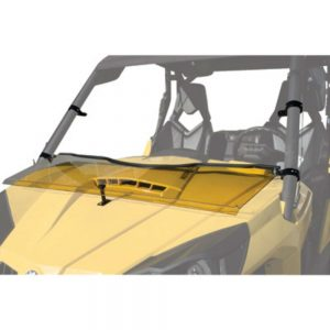 Tusk UTV Hinged Windshield +2-inch for Can-Am Commander 1000 2011-2014