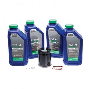 Tusk Oil Change Kit With Polaris PS-4 Plus 5W-50 for Polaris RANGER RZR XP 4 900 2012
