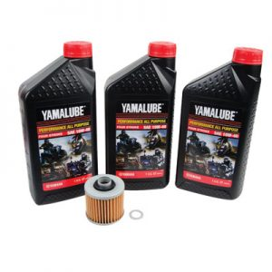 Tusk Oil Change Kit With Yamalube All Purpose 10W-40 for Yamaha RAPTOR 700 2006-2008