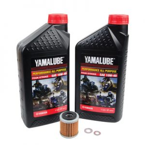 Tusk Oil Change Kit With Yamalube All Purpose 10W-40 for Yamaha YFZ 450 2004-2005