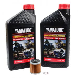Tusk Oil Change Kit With Yamalube All Purpose 10W-40 for Yamaha RAPTOR 250 2008-2013