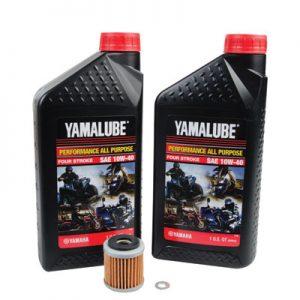 Tusk Oil Change Kit With Yamalube All Purpose 10W-40 for Yamaha YZ450F 2010-2013