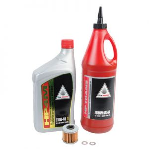 Tusk Oil Change Kit With Pro-Honda HP4M Synthetic Blend 10W-40 for Honda CRF250R 2004-2017
