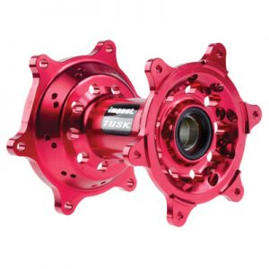 Tusk Impact Motorcycle Hub – Rear Red for Honda CR125R 2005-2007
