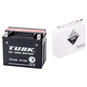 Tusk Tec-Core Battery with Acid TTX12BS Maintenance-Free for Aprilia RST 1000 Futura 2001-2004