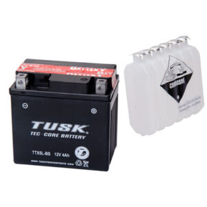 Tusk Tec-Core Battery with Acid TTX5LBS Maintenance-Free for Arctic Cat 50 2×4 2004-2006