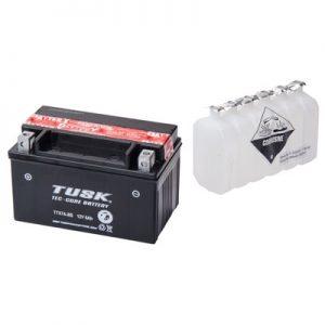 Tusk Tec-Core Battery with Acid TTX7A-BS Maintenance-Free for Kawasaki Ninja 250 EX250F 2008