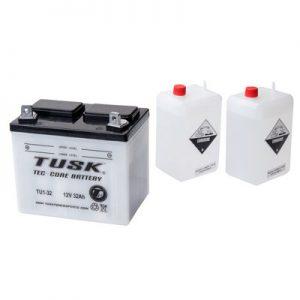 Tusk Tec-Core Battery with Acid TU1-32 Maintenance-Free for Yamaha RHINO 450 4X4 2006-2009