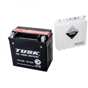 Tusk Tec-Core Battery with Acid TTX14BS Maintenance-Free for Aprilia Dorsoduro 1200 2011-2013