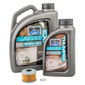 Tusk Oil Change Kit With Bel-Ray EXP Synthetic 10W-30 for Honda TRX 500 2×4 FOREMAN 2005-2006