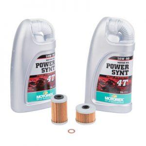 Tusk Oil Change Kit With Motorex Power Synthetic 4T 10W-50 for Husqvarna 701 ENDURO 2016-2018