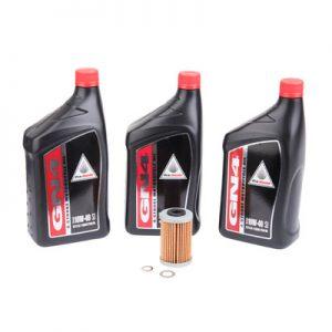 Tusk Oil Change Kit With Pro-Honda GN4 10W-40 for Honda XR650L 1993-2009