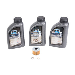 Tusk Oil Change Kit With Bel-Ray EXL 10W-40 for Honda XR650L 1993-2009