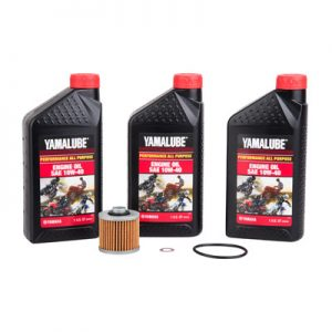 Tusk Oil Change Kit With Yamalube All Purpose 10W-40 for Yamaha GRIZZLY 600 4×4 1998-2001