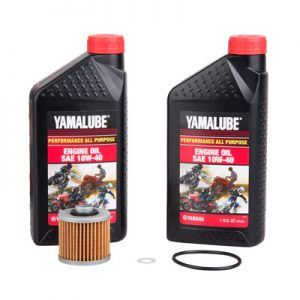 Tusk Oil Change Kit With Yamalube All Purpose 10W-40 for Yamaha RAPTOR 700 2006-2019