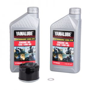 Tusk Oil Change Kit With Yamalube Performance Semi-Syn 10W-50 for Yamaha GRIZZLY 700 4×4 2016-2017