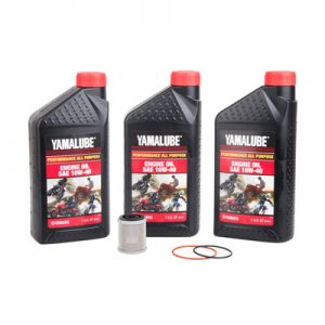 Tusk Oil Change Kit With Yamalube All Purpose 10W-40 for Yamaha RAPTOR 350 2004-2013