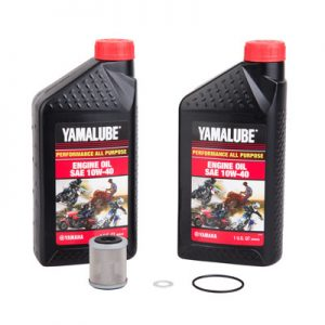 Tusk Oil Change Kit With Yamalube All Purpose 10W-40 for Yamaha TTR250 1999-2006