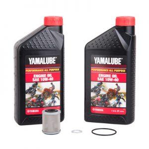 Tusk Oil Change Kit With Yamalube All Purpose 10W-40 for Yamaha YZ250F 2001-2002