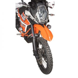 High Fender Kit Orange for KTM 1090 Adventure R 2017-2018