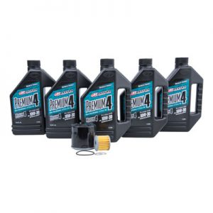 Tusk Oil Change Kit With Maxima Premium 10W-30 for Honda Africa Twin DCT CRF1000D 2016-2018