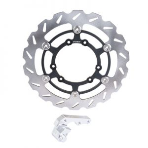 Tusk Oversized Floating Typhoon Brake Rotor Kit, Front 270mm for Honda CRF250R 2015-2019