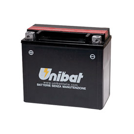 Unibat Maintenance-Free Battery with Acid CBTX14L-BS for Harley-Davidson CVO V-Rod VRSCSE 2005-2006