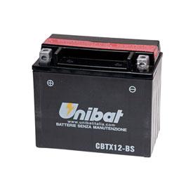 Unibat Maintenance-Free Battery with Acid CBTX12-BS for Aprilia RSV 1000 R 2004-2008