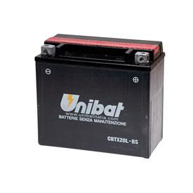 Unibat Maintenance-Free Battery with Acid CBTX20L-BS for Arctic Cat PROWLER 500 2017