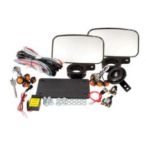Tusk UTV Horn & Signal Kit – With Mirrors