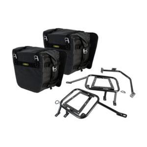 Tusk Pannier Racks with Nelson Rigg Sierra Dry Saddlebags