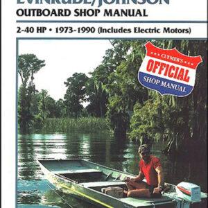 Clymer Repair Manual for Evin/Jhnsn 2-40 HP OB 1973-1990