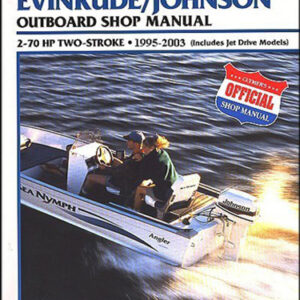Clymer Repair Manual for Evin/Jhsn 2-70 1995-2003