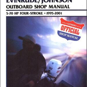 Clymer Repair Manual for Jhnsn/Evnrd Four-stroke OB 1995-2001