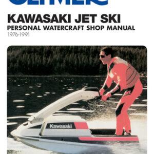 Clymer Repair Manual for Kawasaki Jet Ski 1976-1991