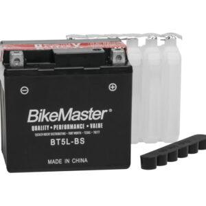 BikeMaster Maintenance Free Battery BT5L-BS for Aprilia Mojito 50 Custom 2000-2005